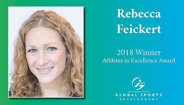 In our latest spotlight, we look look at 2018 Athlete in Excellence award-winner @feickert.  A former high school and college basketball star herself, Rebecca would go on to co-found @treyathletes - a premiere leadership development program that teaches high school athletes how to make informed college decisions, succeed as collegiate student-athletes, and successfully transfer their skills and identities into post-sport life.  Link in bio.