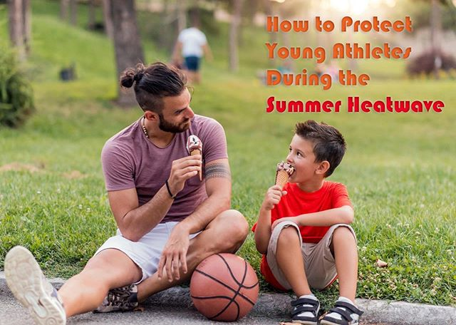 Rising temperatures and exposure to UV rays are especially dangerous for kids playing #summersports. Our latest blog gives expert-approved advice on how to protect kids from exertional #heatstroke, #skincancer and eye damage. Link in bio.  #heatwave #youthsports #summertime #health #skincare #summerskincare #exertionalheatstroke #exertionalheatillness #heat #summerleague