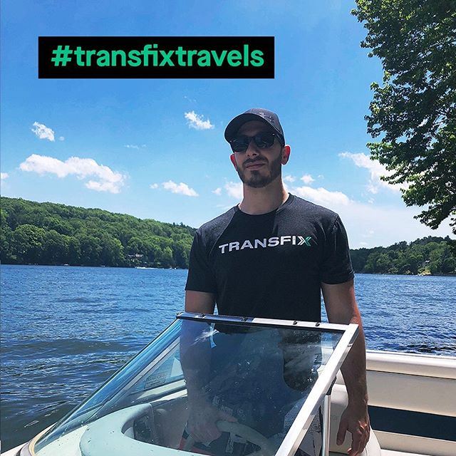 Candlewood Lake was spotted representing #LifeAtTransifx thanks to Treadwell, our Senior Manager of Organizational Effectiveness and Development!