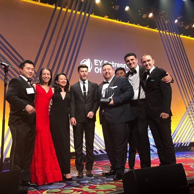 Here's to the #unstoppables! Our CEO and Co-founder, Drew McElroy, won the award for EY Entrepreneur of the Year for #Marketplace and our Transfix team was right beside him to celebrate! #EOYNY #EYEOY