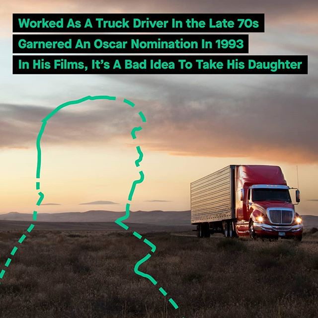 Welcome to #TransportTrivia - where you try and guess the answer of a cool fact relating to #trucking! Here are your first 3 hints: He worked as a truck driver in his late 20s. He garnered an Oscar nomination in 1993. In his films, it's a bad idea to take his daughter. What's your guess? Check back at 2pm for the answer!