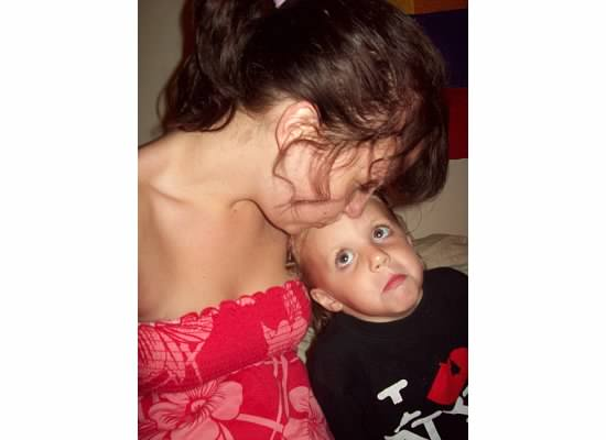© Beck Metzbower 2008, Offspring annoyed with motherly affection