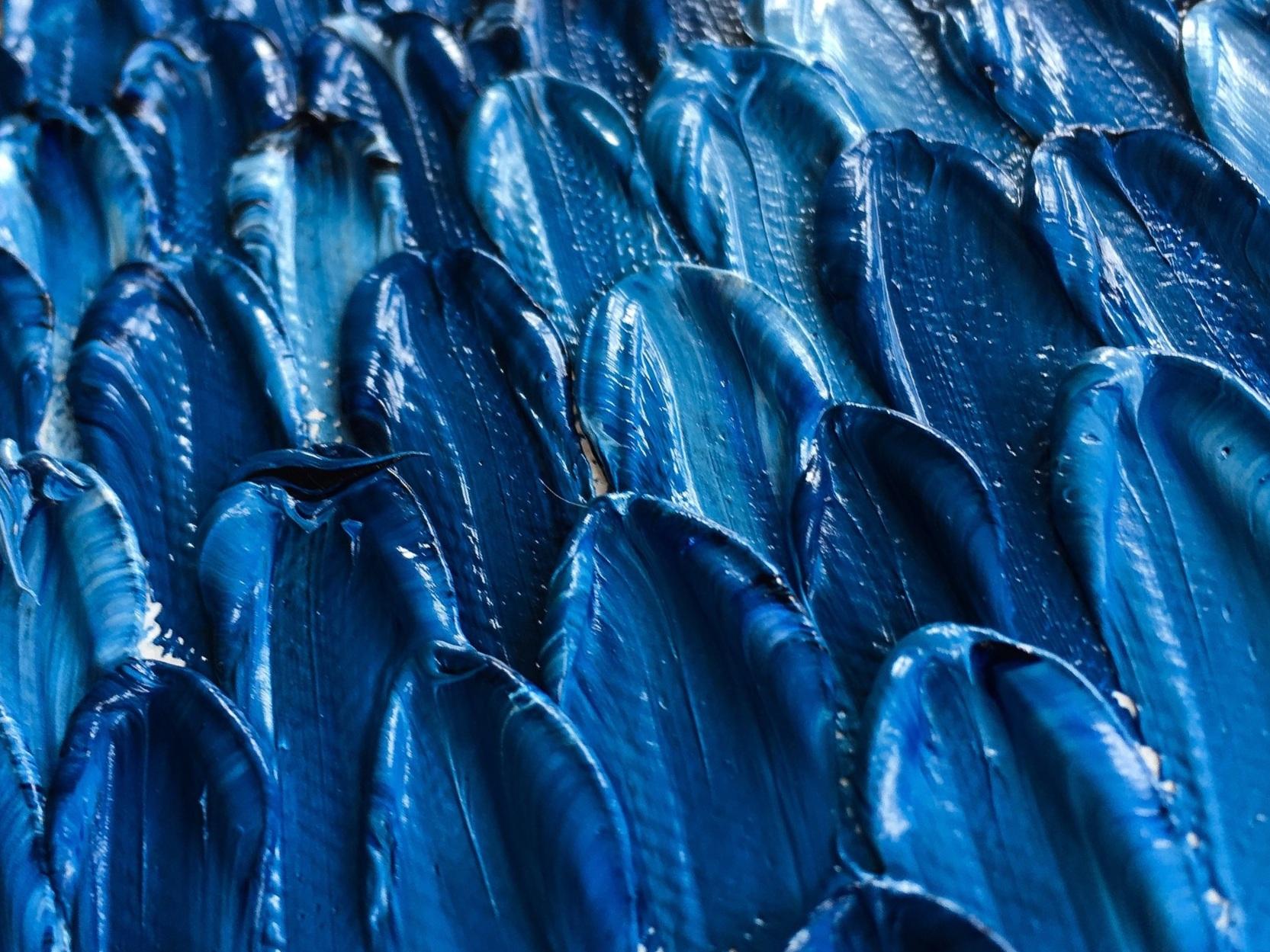 Beck Metzbower 2019  Blue Period  Oil on canvas