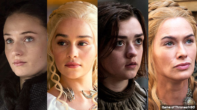 The female characters in GoT have become the most compelling because their motivations are clear … sort of.
