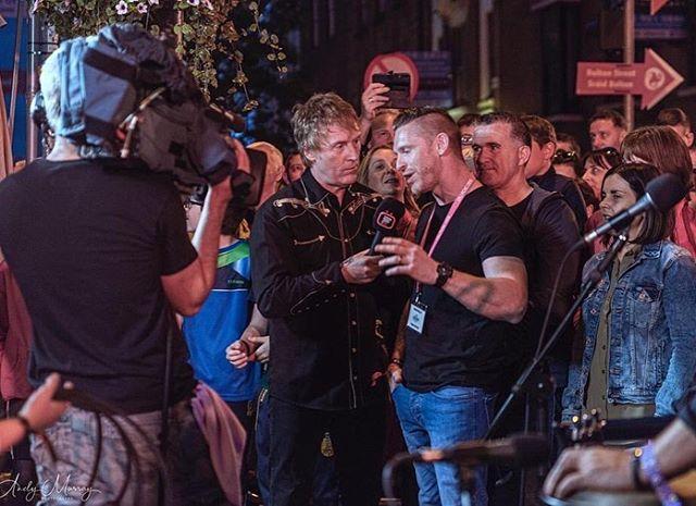 Ceol agus Craic with Hector Ó hEochagáin agus Doireann Ní Ghlacáin at Drogheda's Tourist Office last month. @mickeyjoeharte @rojoenemies @fleadhtv #FleadhTV #ceilipicnic #fleadhcheoil 📸 Andy Photography