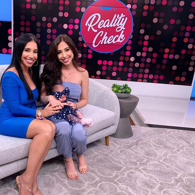 Check out the Ladies in Blue today on #realitycheck in @peopletv