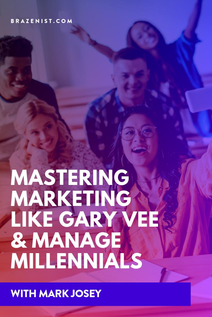 Mark Josey Managing Millennials