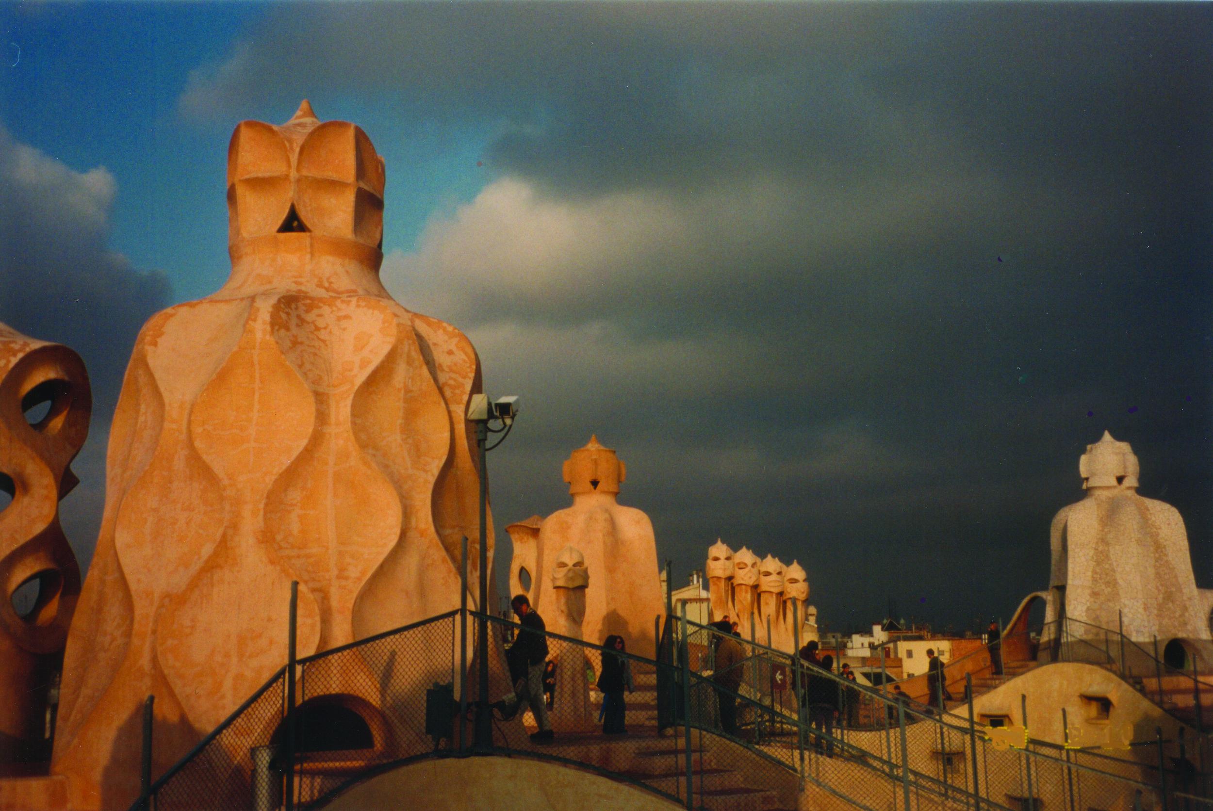 La Pedrera rooftop - Gaudi architecture.jpg