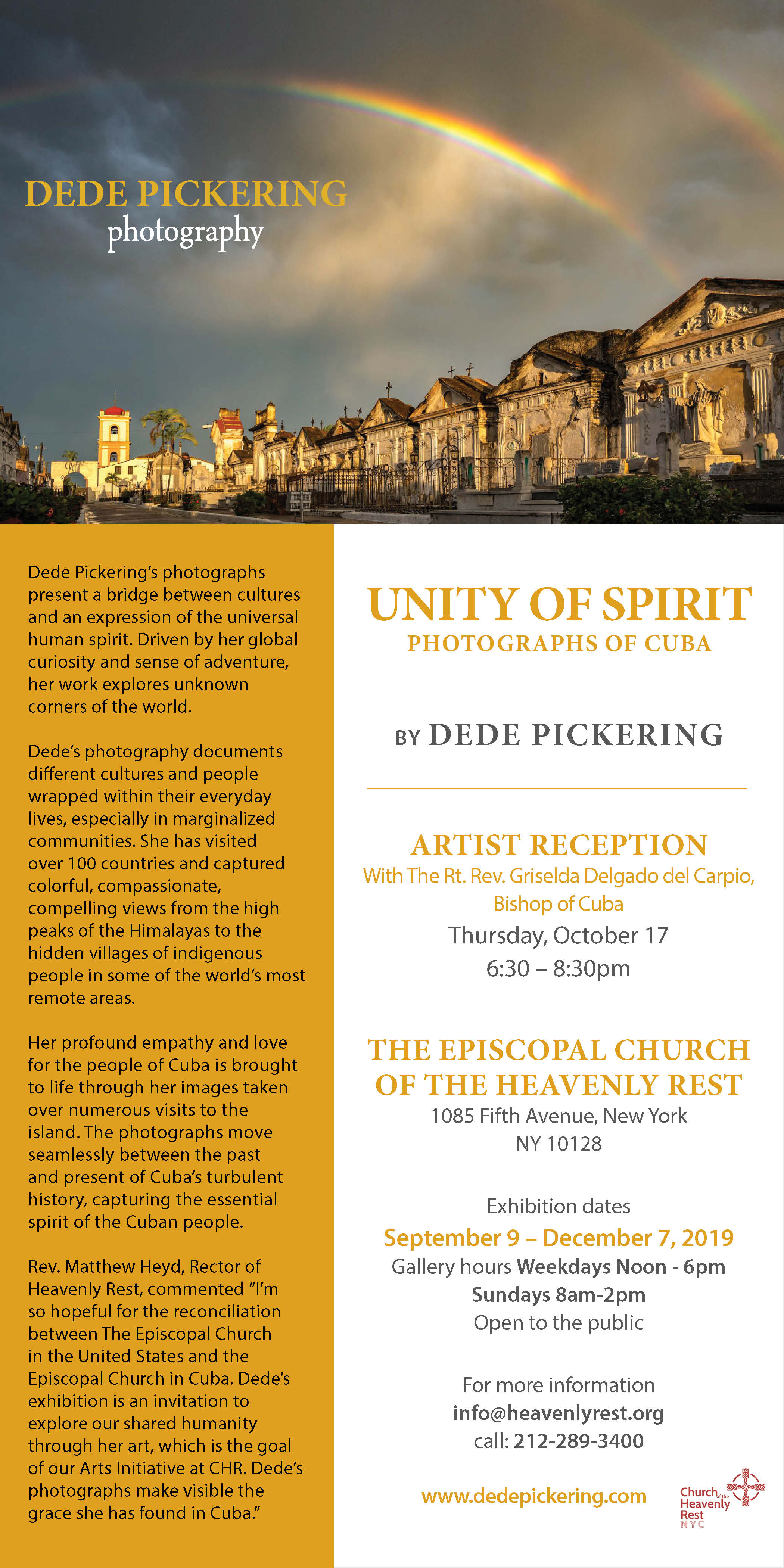 Unity of Spirit — church of the heavenly rest
