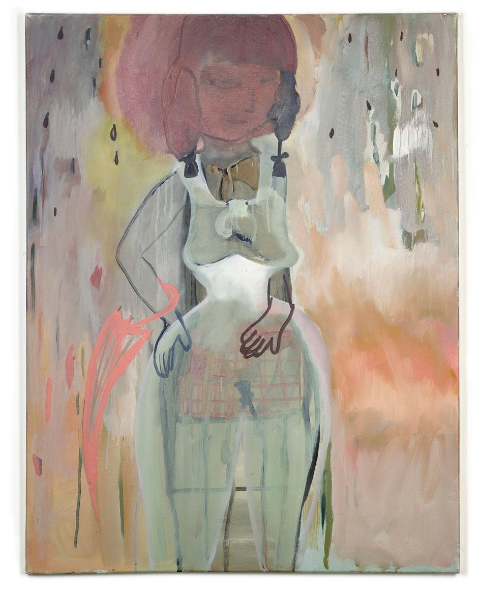 Elisabeth Lecourt | Artist | London | I Love You So | Oil On Canvas 80x70cm | www.elisabethlecourt.com.jpg