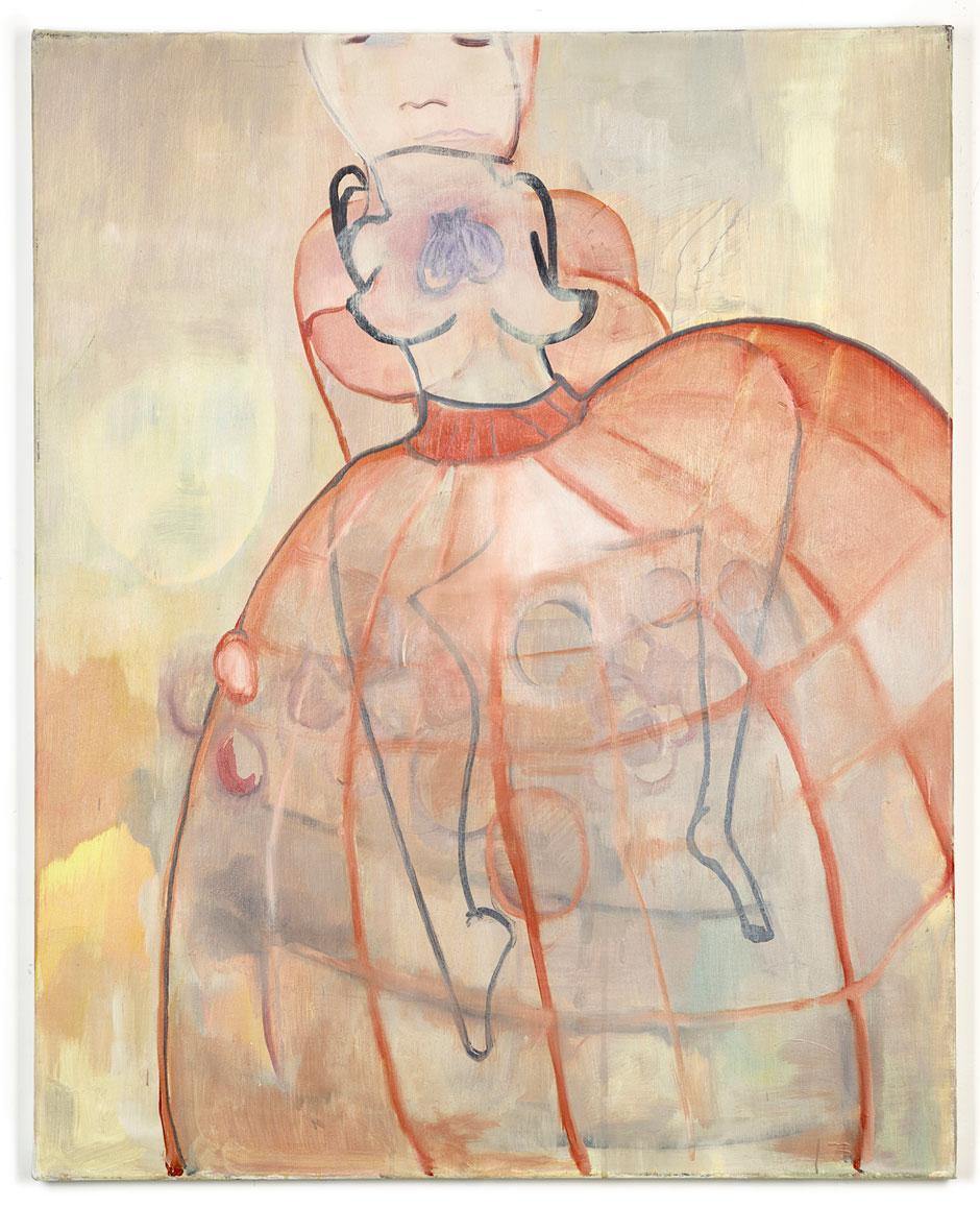 Elisabeth Lecourt | Artist | London | Crénoline et Passe Partout | Oil On Canvas 76x61cm | www.elisabethlecourt.com.jpg