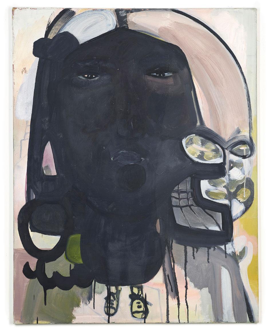 Elisabeth Lecourt | Artist | London | Le Garçon | Oil On Canvas 92x70cm | www.elisabethlecourt.com.jpg