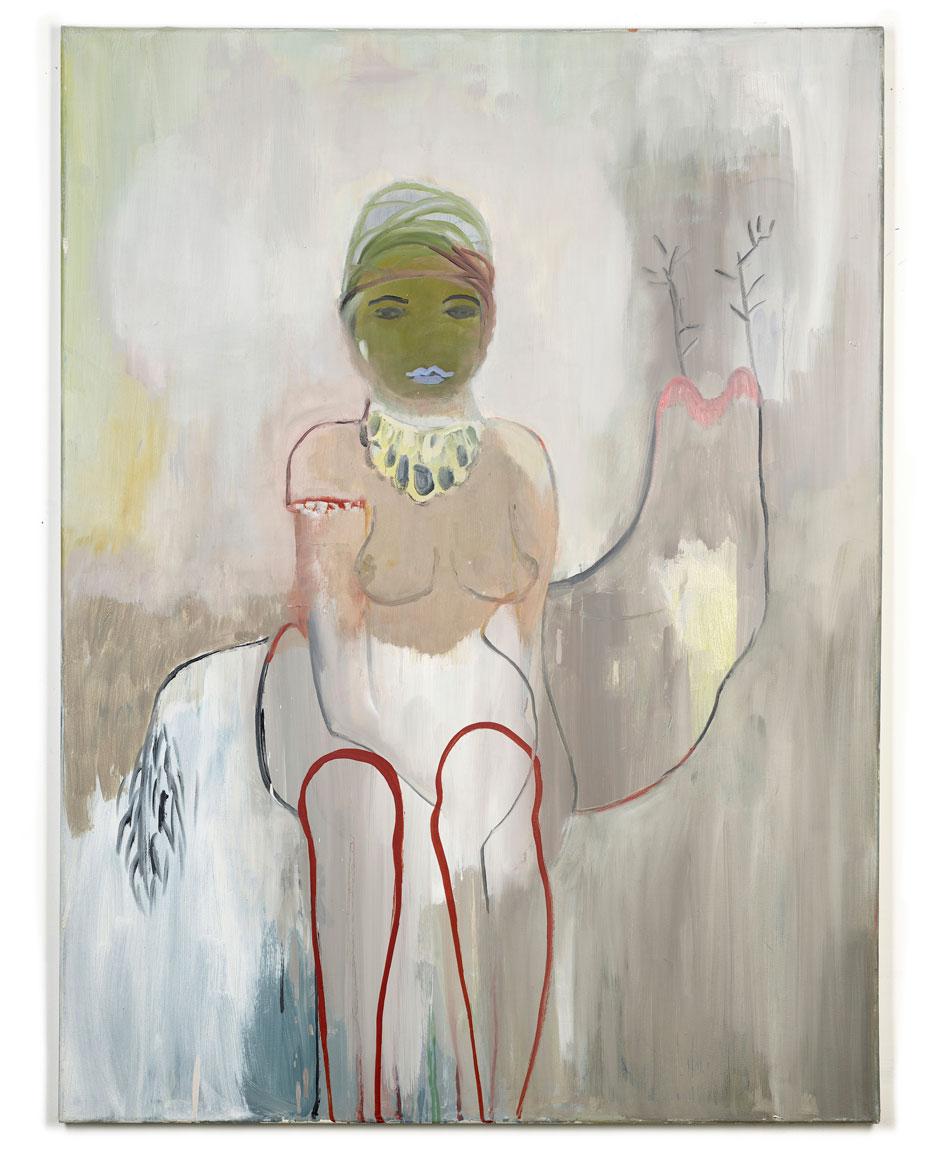 Elisabeth Lecourt | Artist | London | Mon Voyage en Afrique | Oil On Canvas 101x76cm | www.elisabethlecourt.com.jpg