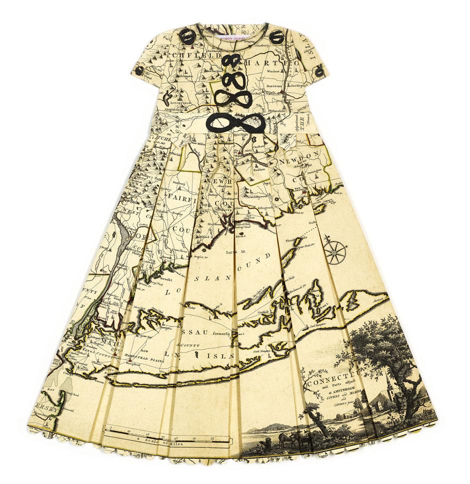 Elisabeth Lecourt | Artist | London | Les Robes Géographiques VI | www.elisabethlecourt.com.jpg