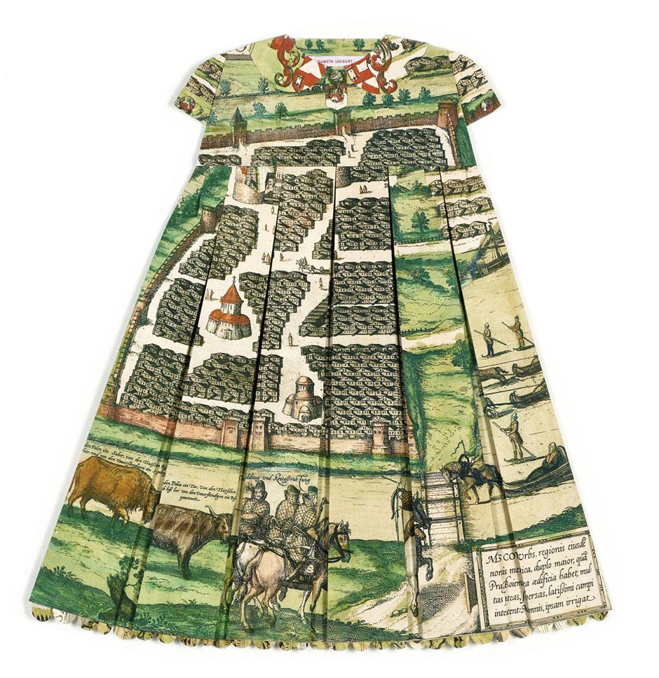 Elisabeth Lecourt | Artist | London | Les Robes Géographiques V | www.elisabethlecourt.com.jpg