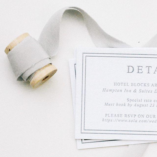 pretty letterpress details ✨