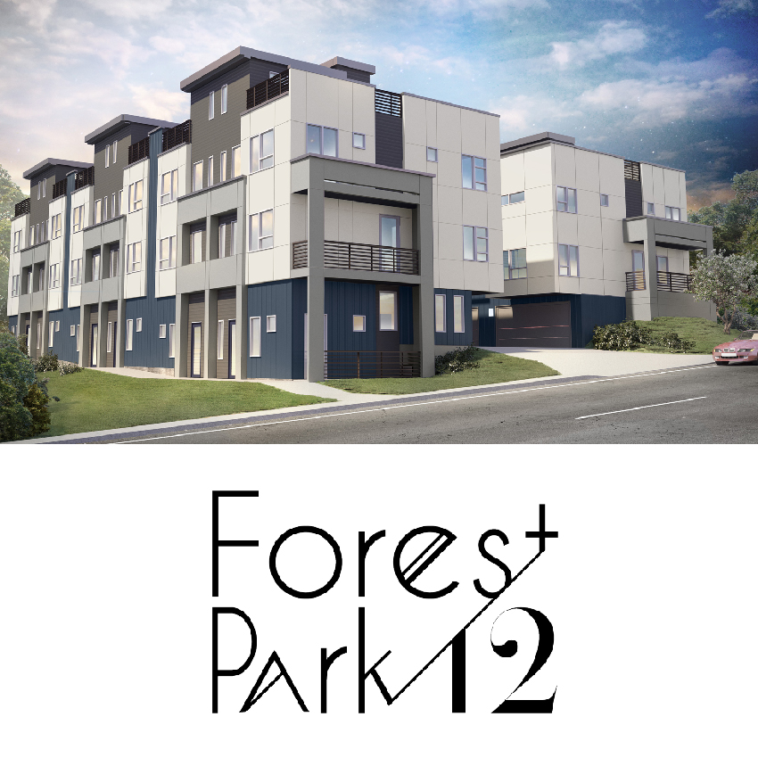 Brand new, and move-in ready. - Forest Park 12 is minutes from Cherry Creek, without the price tag. Stylish and open 2 bedroom, 4 bath units are perfect for relaxing or entertaining.