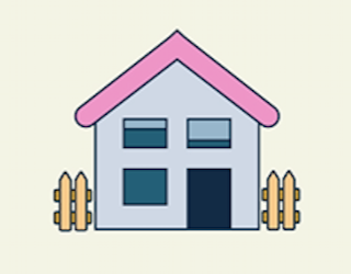 House graphic.