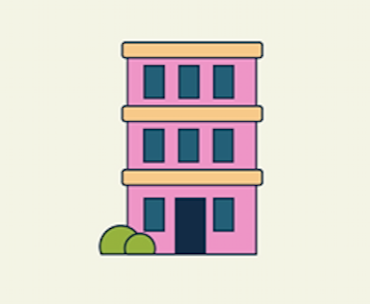Townhome graphic.