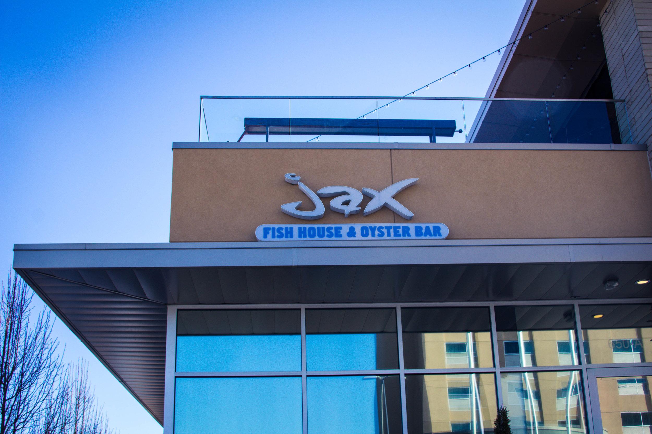 Jax Fish House & Oyster Bar.