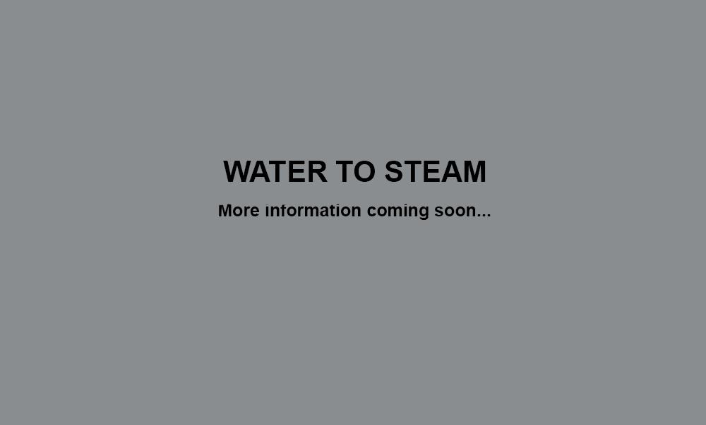 Water To Steam