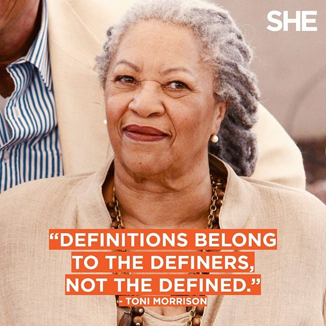 Sharing a quote from Beloved in honor of this visionary woman. Toni Morrison, your legacy lives on. 🧡 . . . #tonimorrison #author #storyteller #beloved #powerfulwomen #legacy
