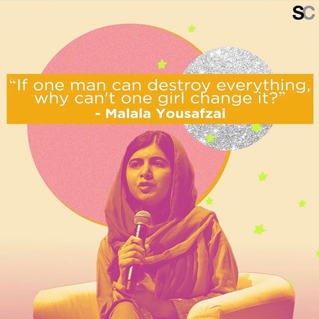 A look at how our brands @stylecaster @blogher & @sheknows are using their platforms to celebrate girls and promote human rights activism on #dayofthegirl. . . . #womensupportingwomen #malala #emmawatson #melindagates #internationaldayofthegirl #feminist #feminism #equality #equalrights #humanrights #girlforce #instagood #WeAreSHE