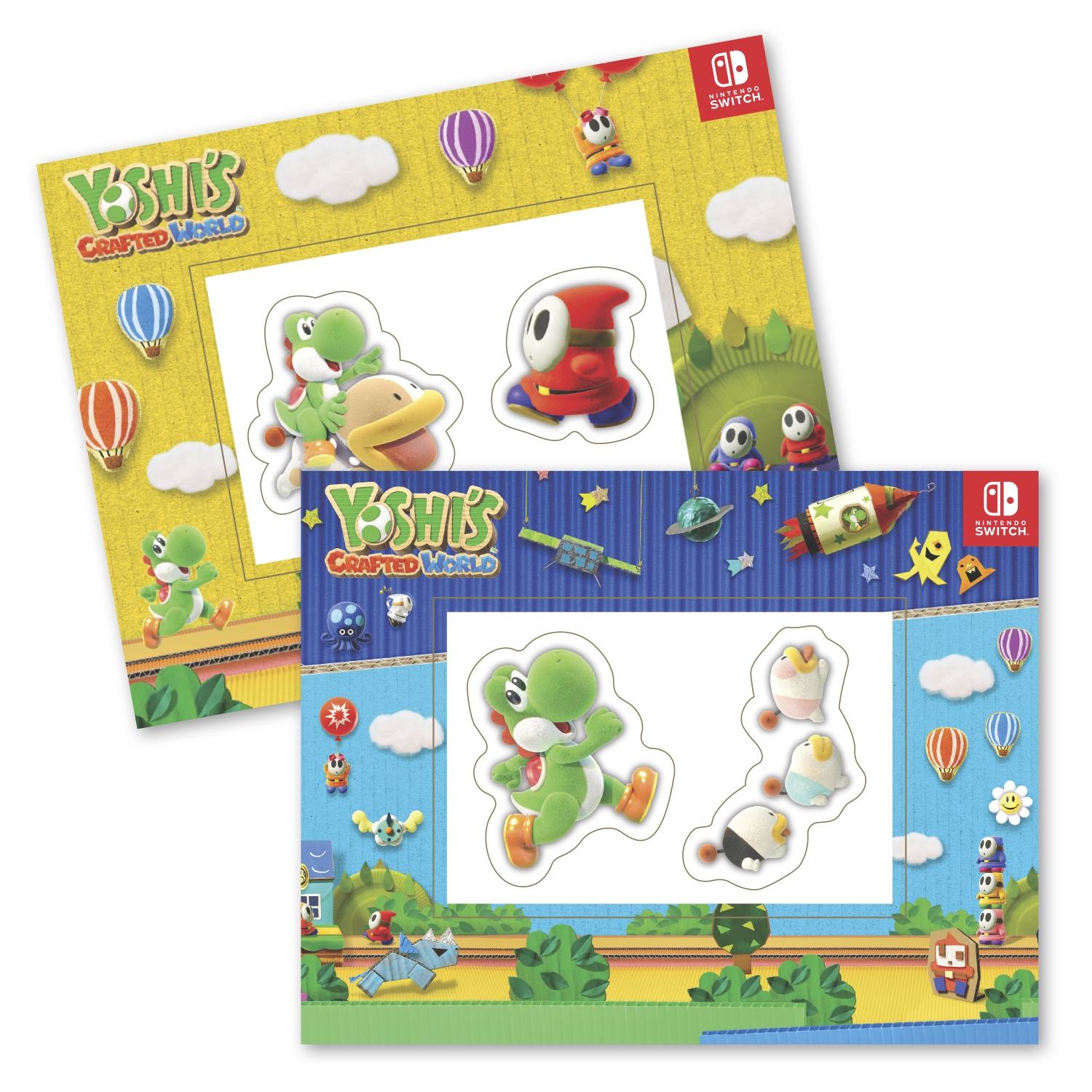 """• PFCST Custom Picture Frame Magnet, 5.25: x 6.75"""", .034 thickness  • Nintendo/Yoshi project for 26,800 sets. Magnets were inserted into cello bag for retail packaging with bar code sticker attached."""