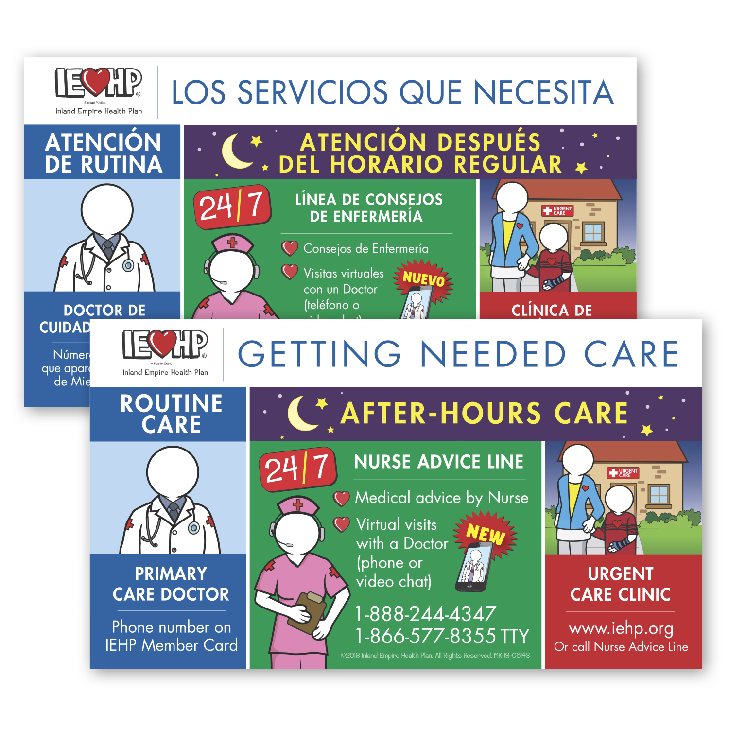 """• S402 Stock Magnet, 4"""" x 7"""", .025 thickness  • Health Plan sent out English/Spanish version magnets, totaling 706,000 pieces, to inform members where to locate information."""