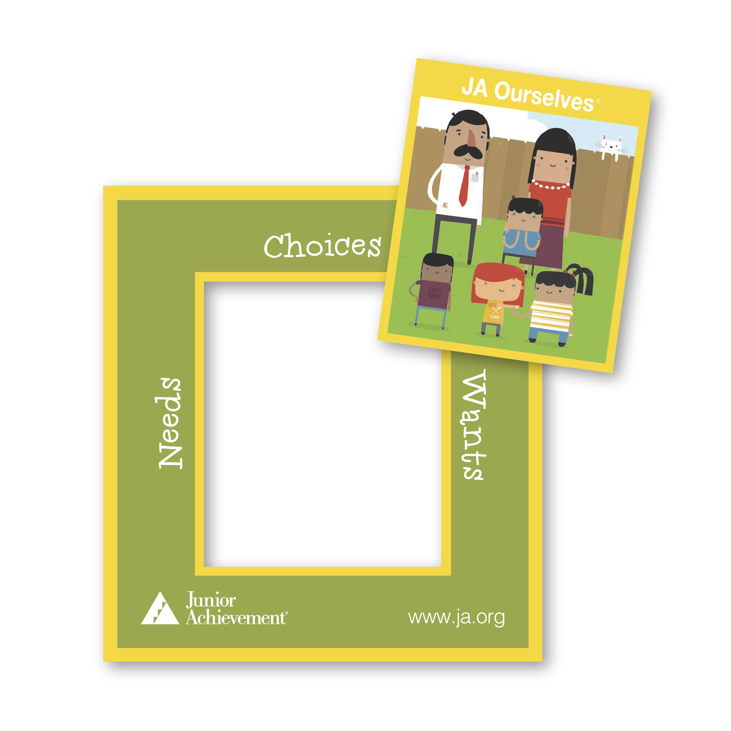 """• PFCST Custom Picture Frame Magnet, 3"""" x 3.25"""", .020 thickness  • 585,000 repeat order that was inserted into envelopes and mailed to donors."""