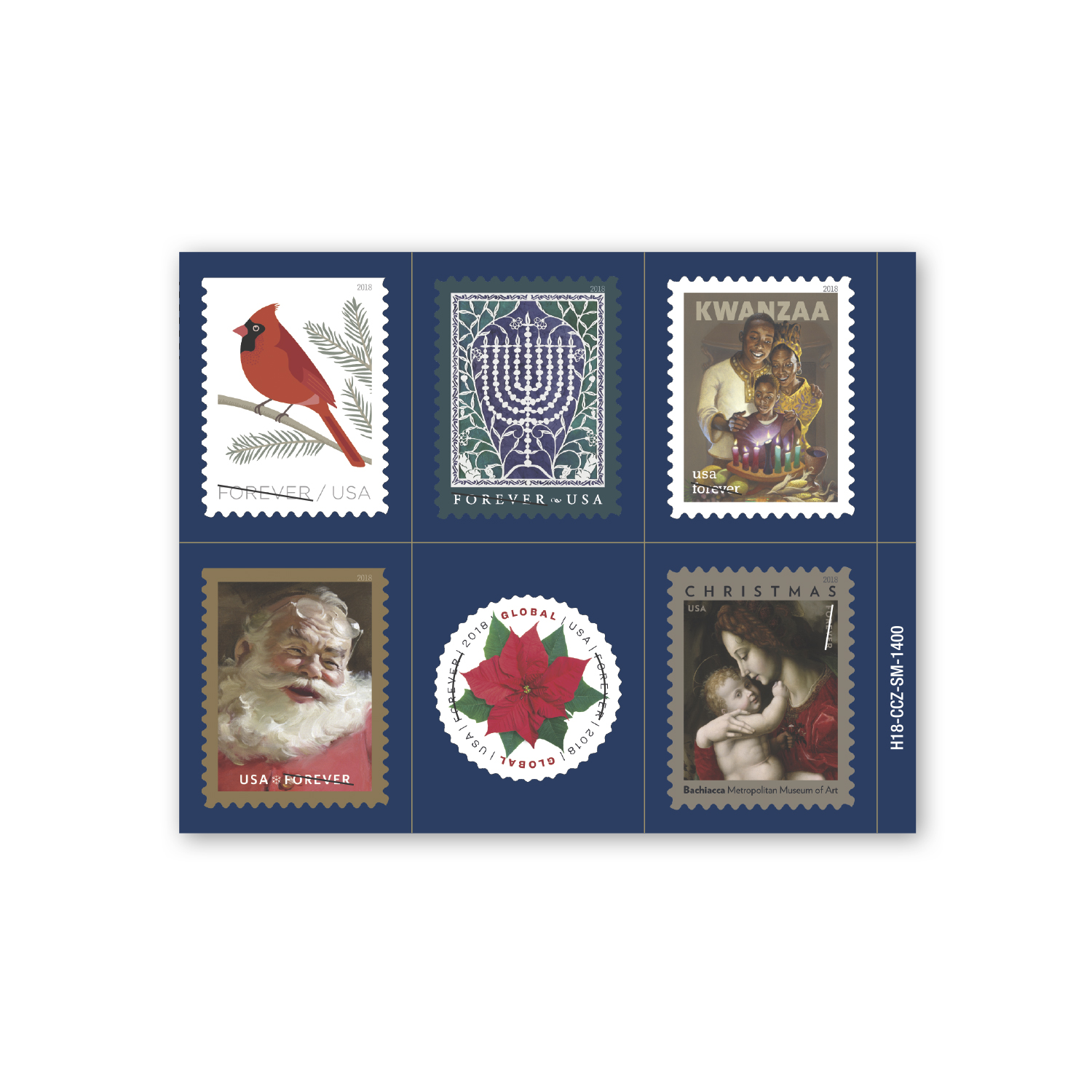 """• CF18S Custom Kiss Cut Magnet, 4.75"""" x 3.75"""", .040 thickness  • 45,000 holiday magnets that the US Postal Service has repeat orders throughout the year to advertise the new stamp designs once they are released."""