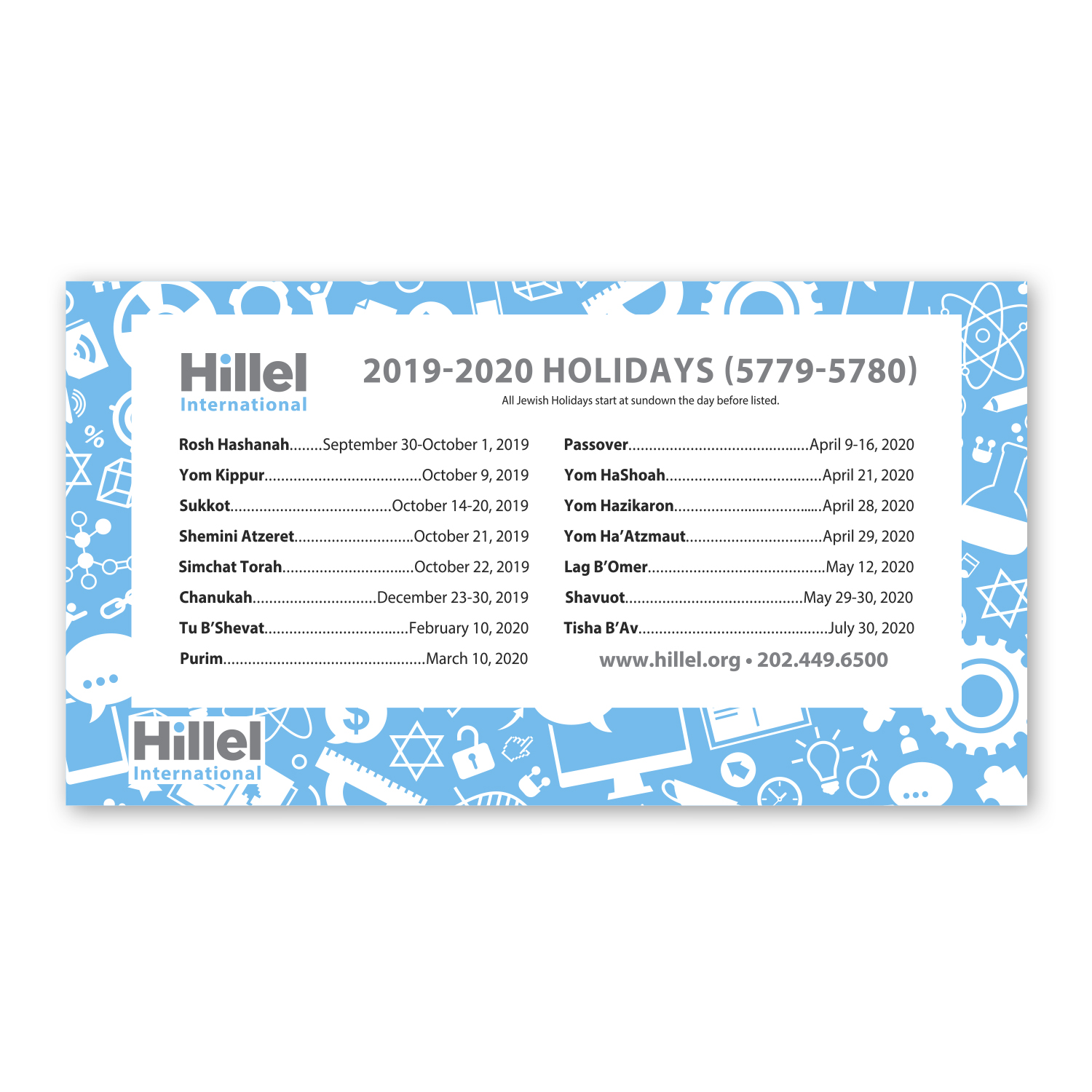 """• CF17S Custom Rectangle Magnet, 3"""" x 5.5"""", .020 thickness  • 100,000 piece magnet order with the 2019-2020 Holidays for college students."""