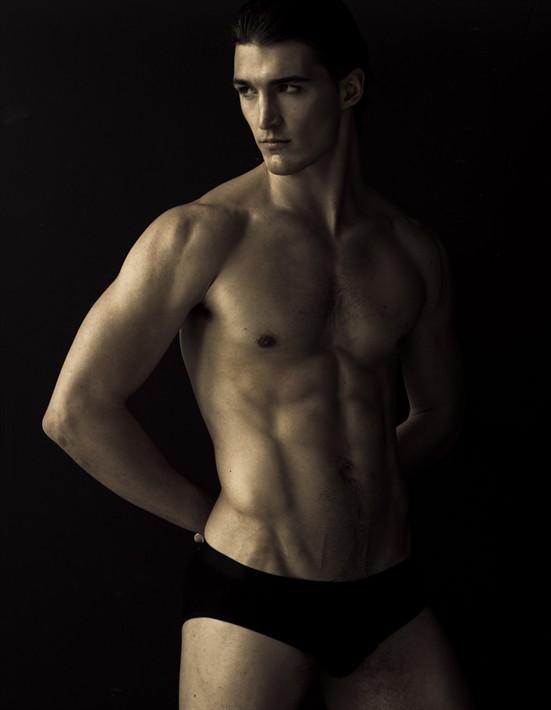Male underwear Shoot Makeup artist