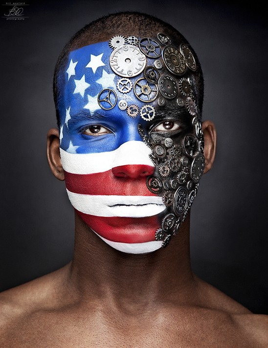 America The Machine Special Effects Makeup Artist
