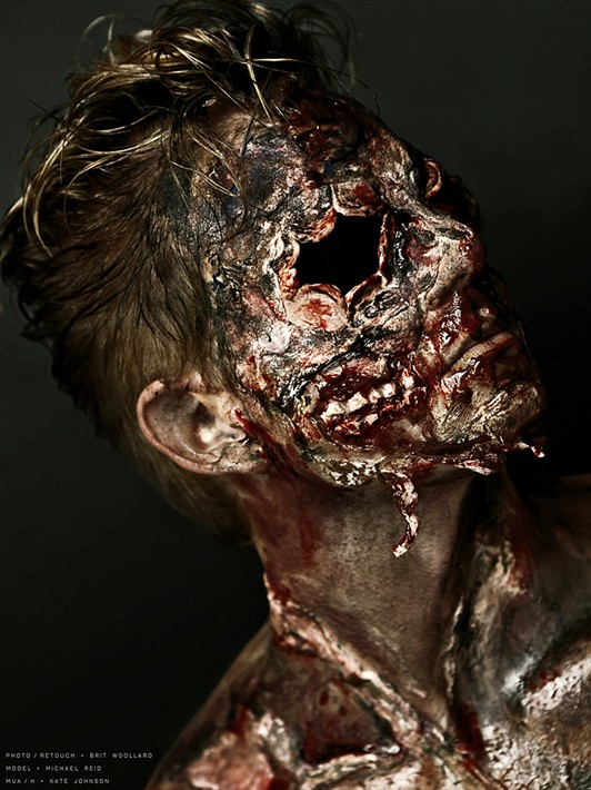Zombie Special Effects Makeup Artist