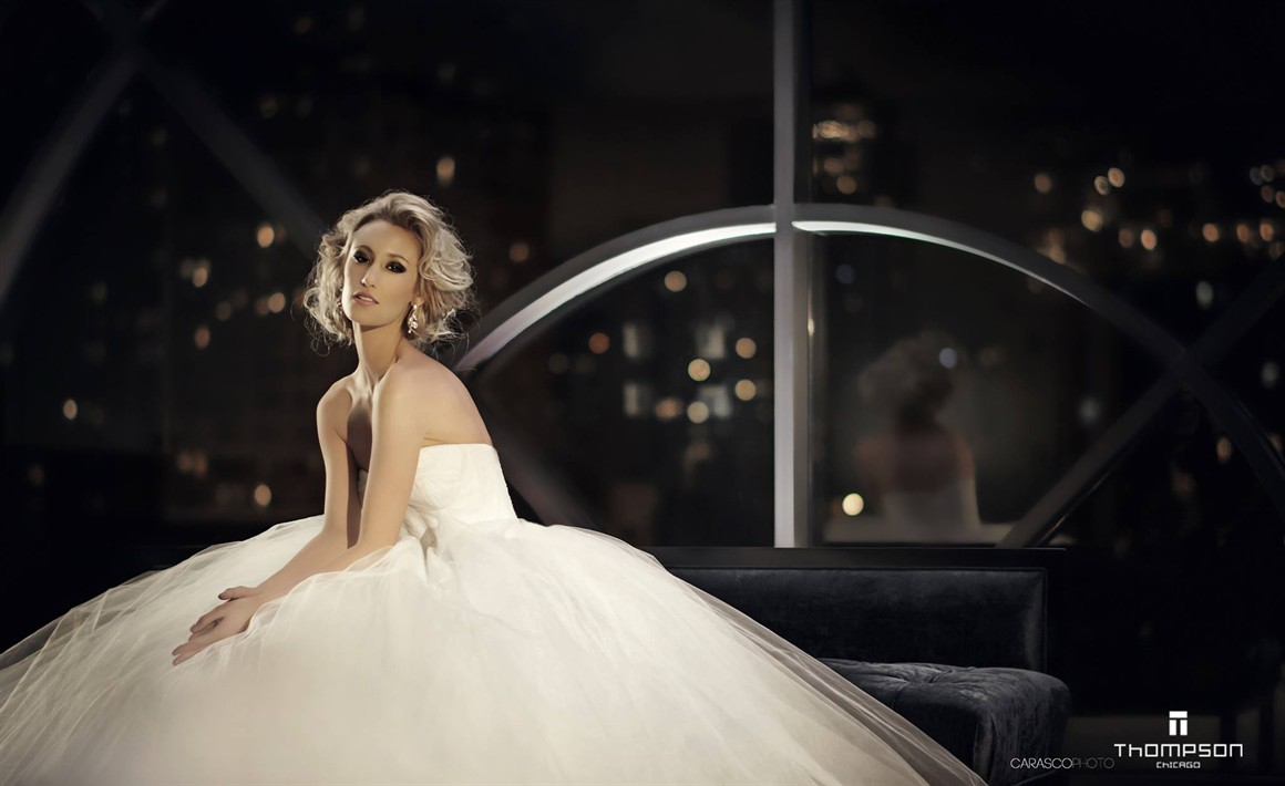 Bridal Advertisement for The Thompson Hotel Chicago