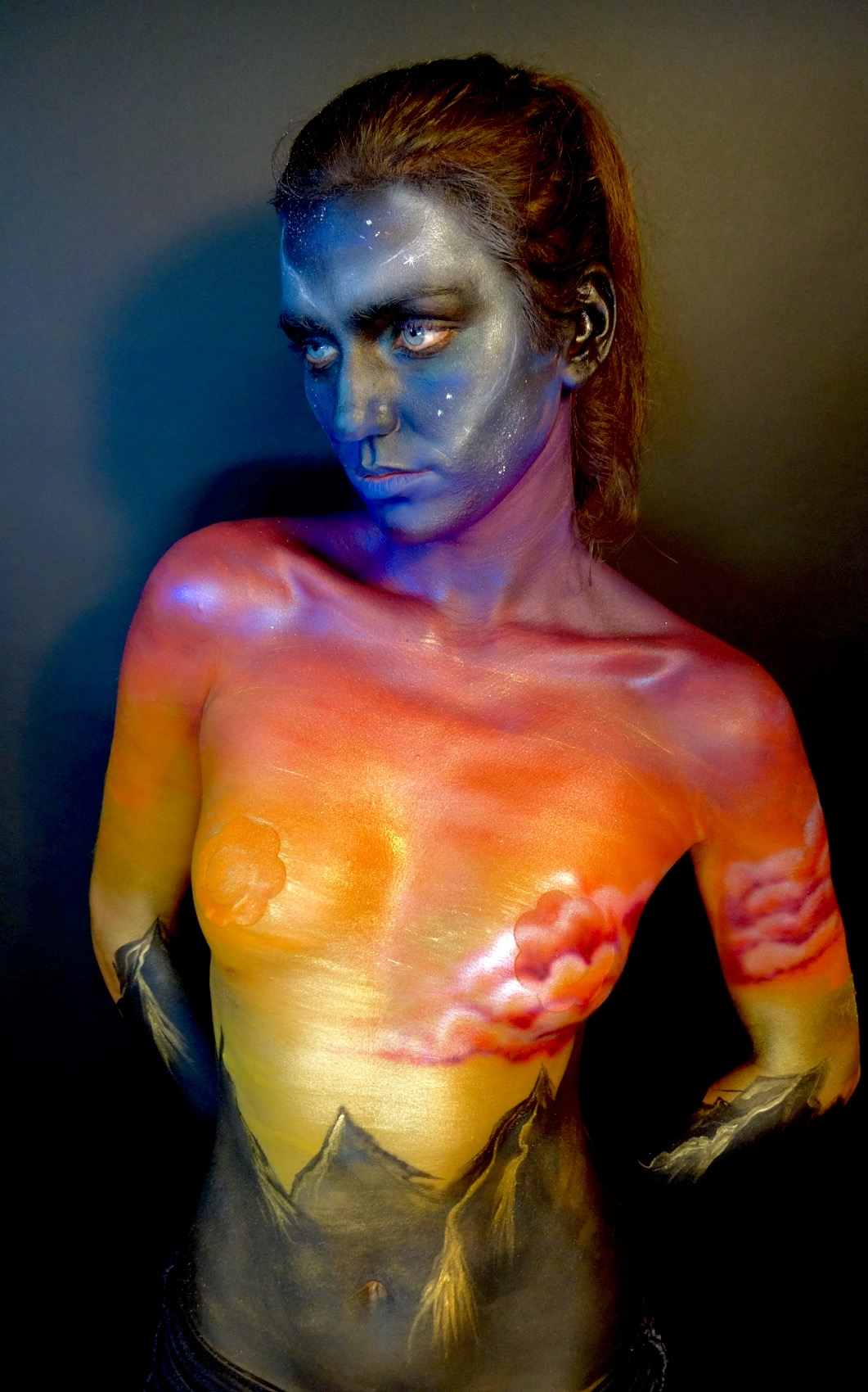 Chicago Body Paint Artist
