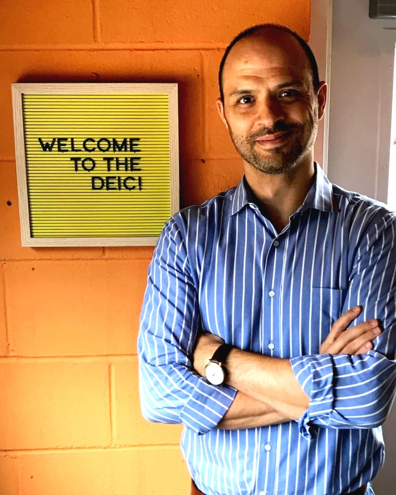Adam Sledd, director of Dominion Energy Innovation Center in Downtown Ashland