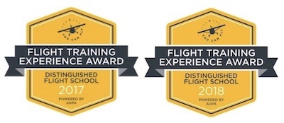 EFI Flight School has been recognized as a Distinguished Flight School by the Aircraft Owners and Pilots Association (AOPA).