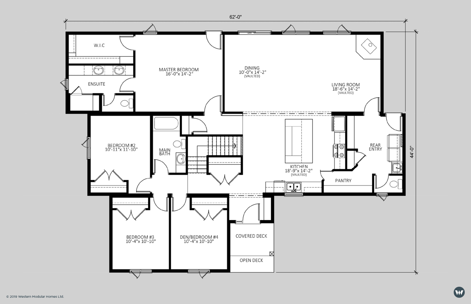 The Marquise  2,088 sq ft  Standard Floorplan