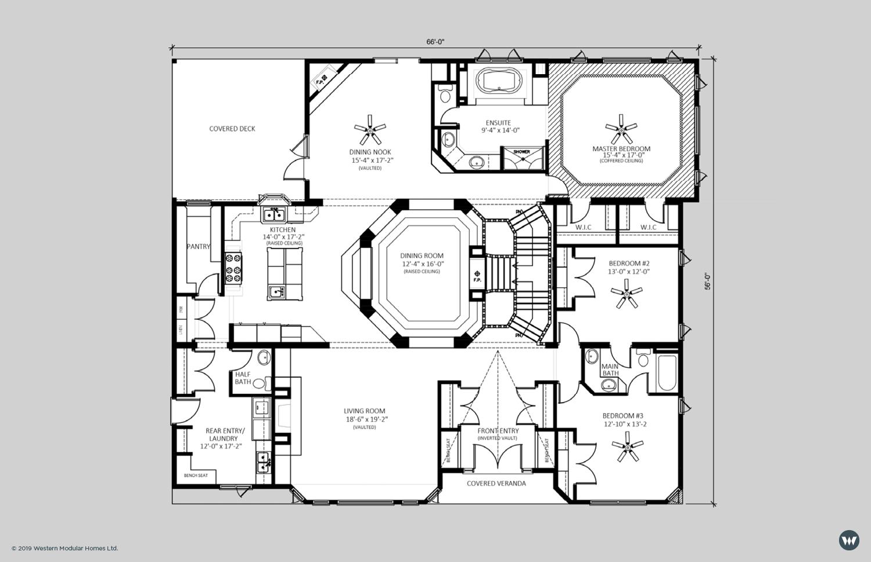 The Stratford  3,226 sq ft  Showhome Floorplan