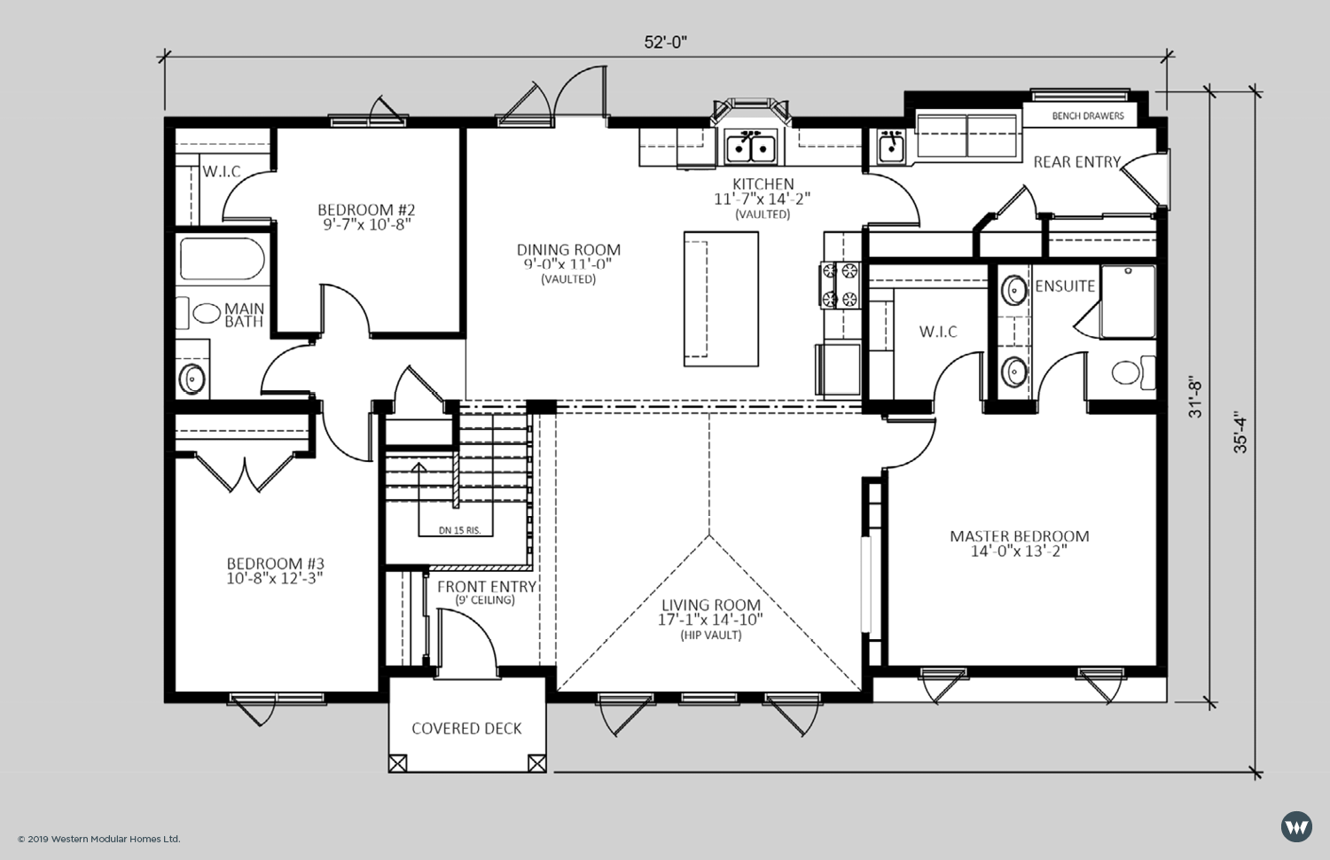The Glendale  1,563 sq ft  Showhome Floorplan