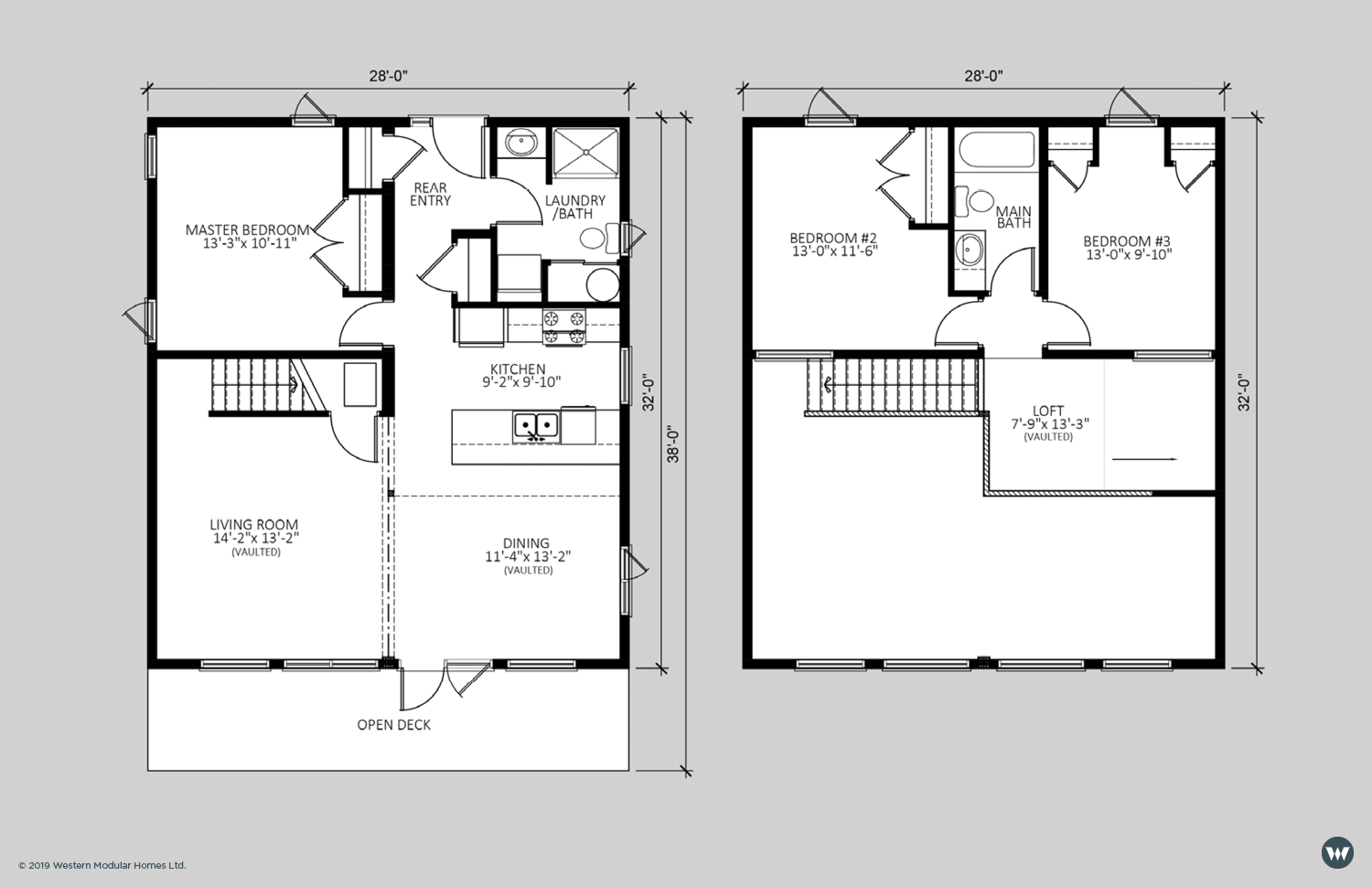 The Oasis  1,360 sq ft  Showhome Floorplan
