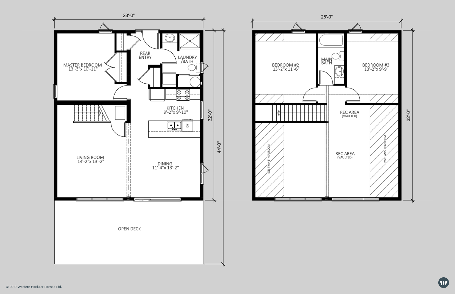 The Haven  1,563 sq ft (above 5' headroom)  Proposed Loft Layout