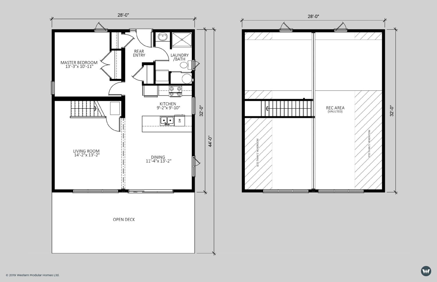 The Haven  1,563 sq ft (above 5' headroom)    Showhome Floorplan