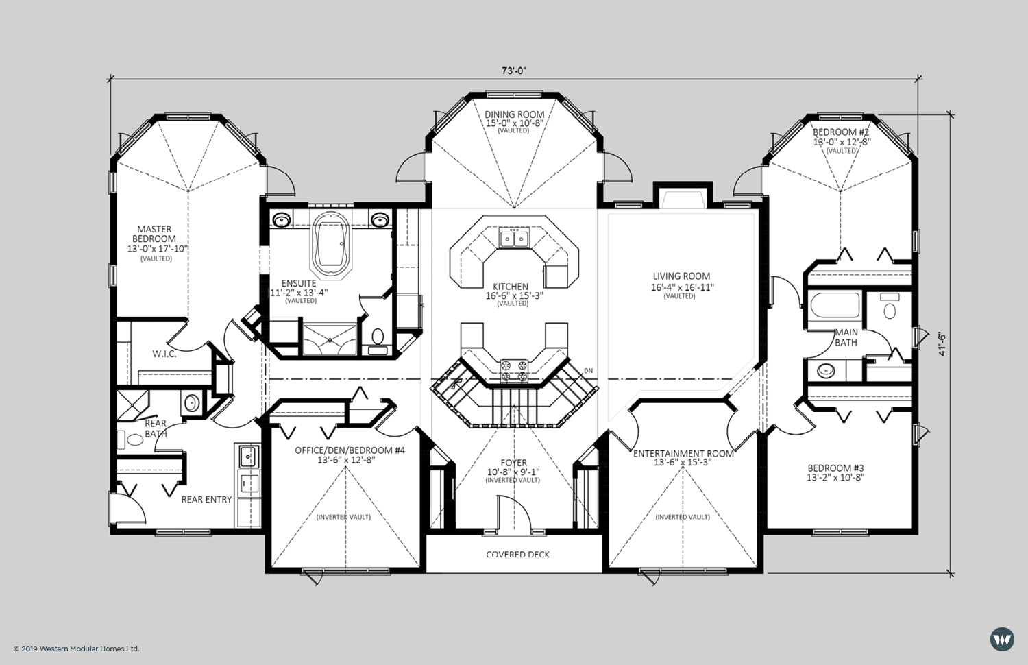 The Stoneshire  2,658 sq ft  Standard Floorplan