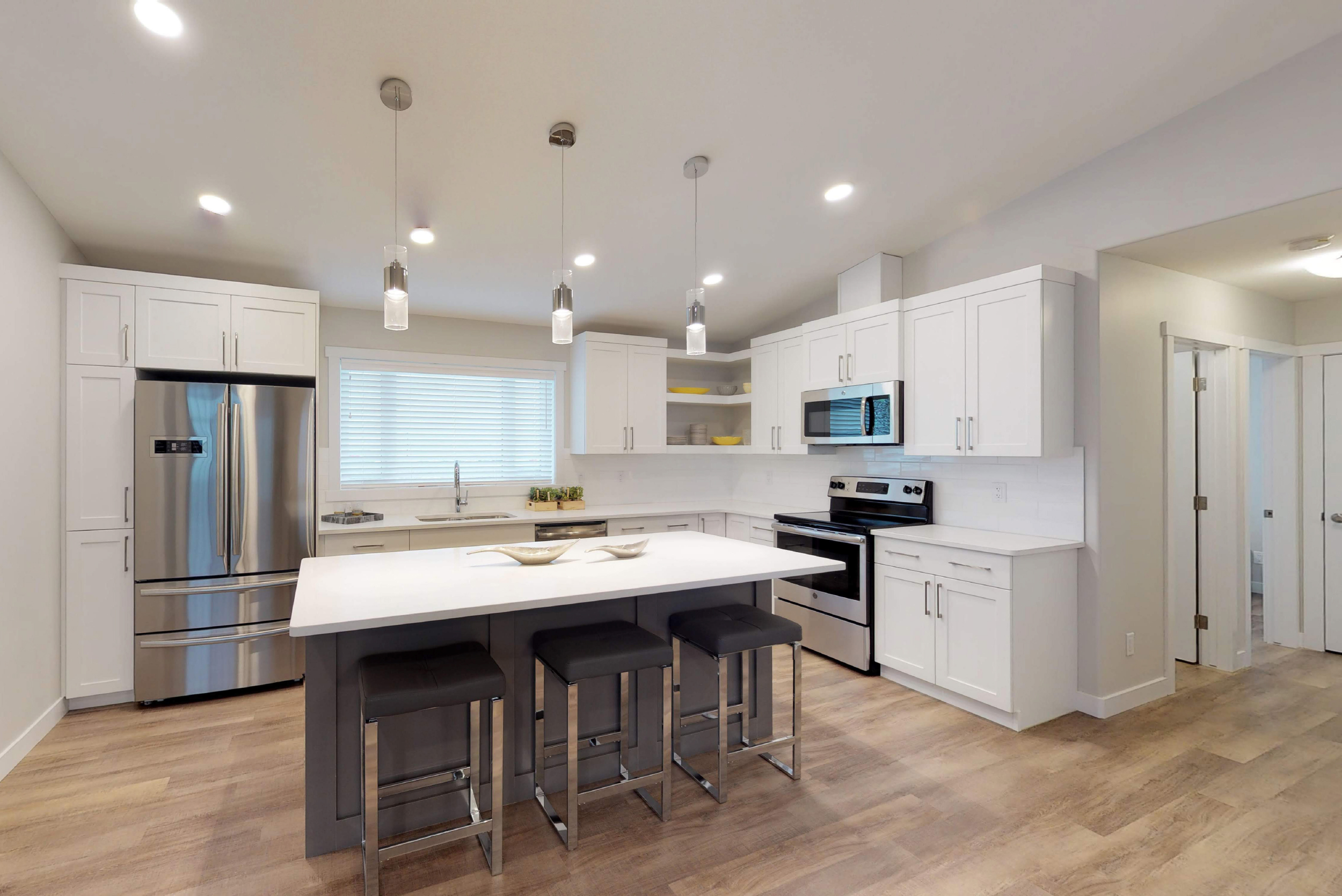 MODERN KITCHEN. - The Harlow / 1,617 sq ftSee plans >>>