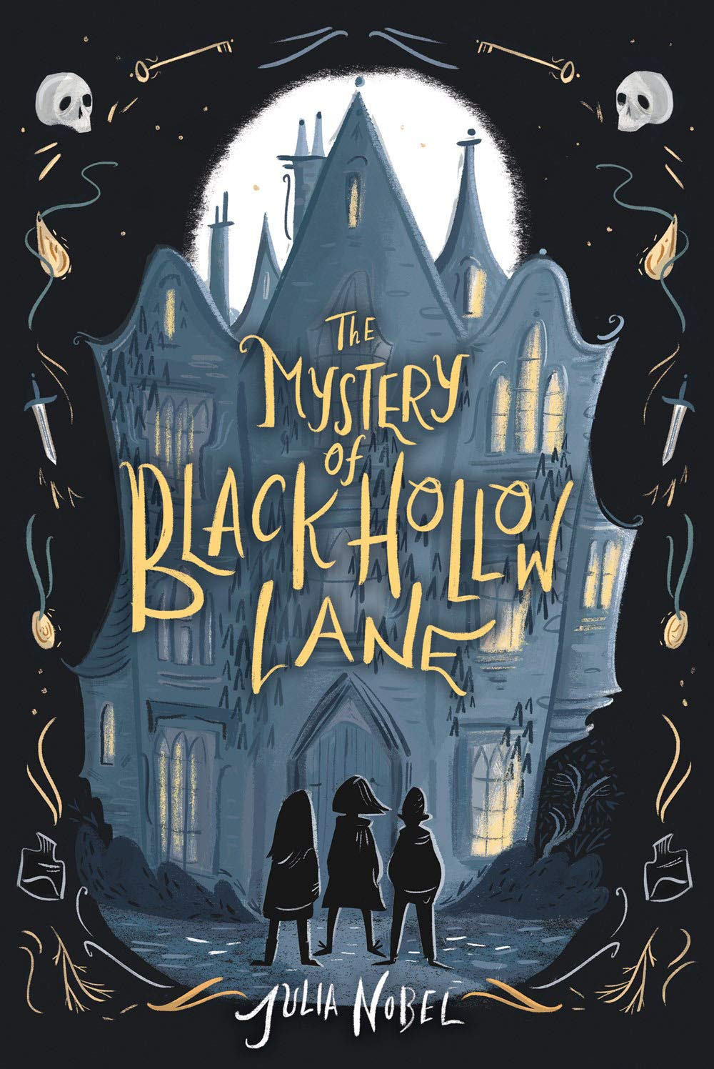 The Mystery of Black Hollow Lane, by Julia Nobel