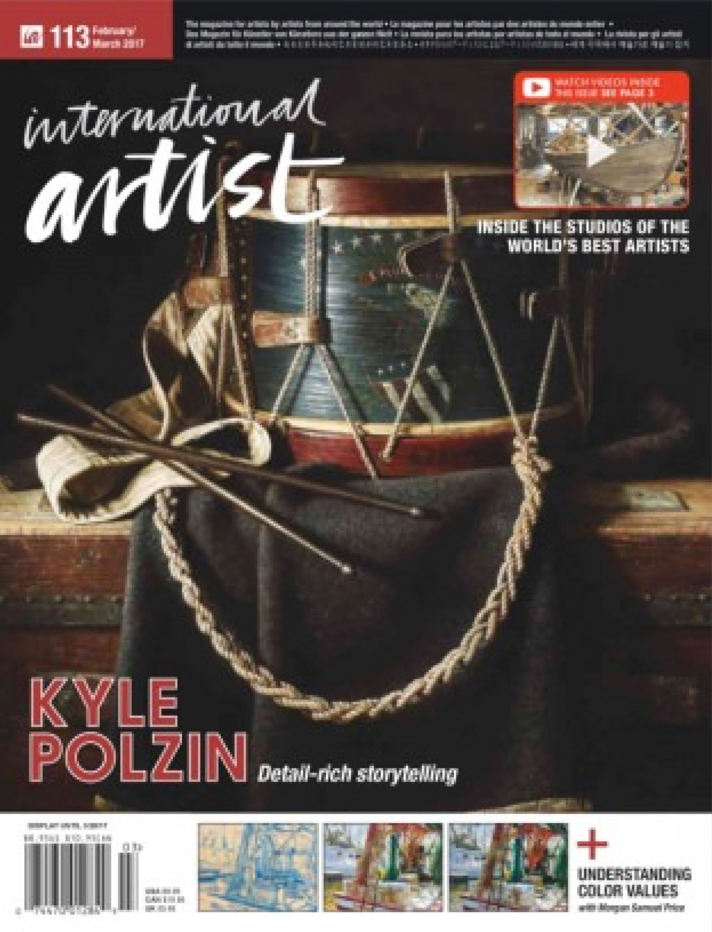 International Artist magazine, issue 113