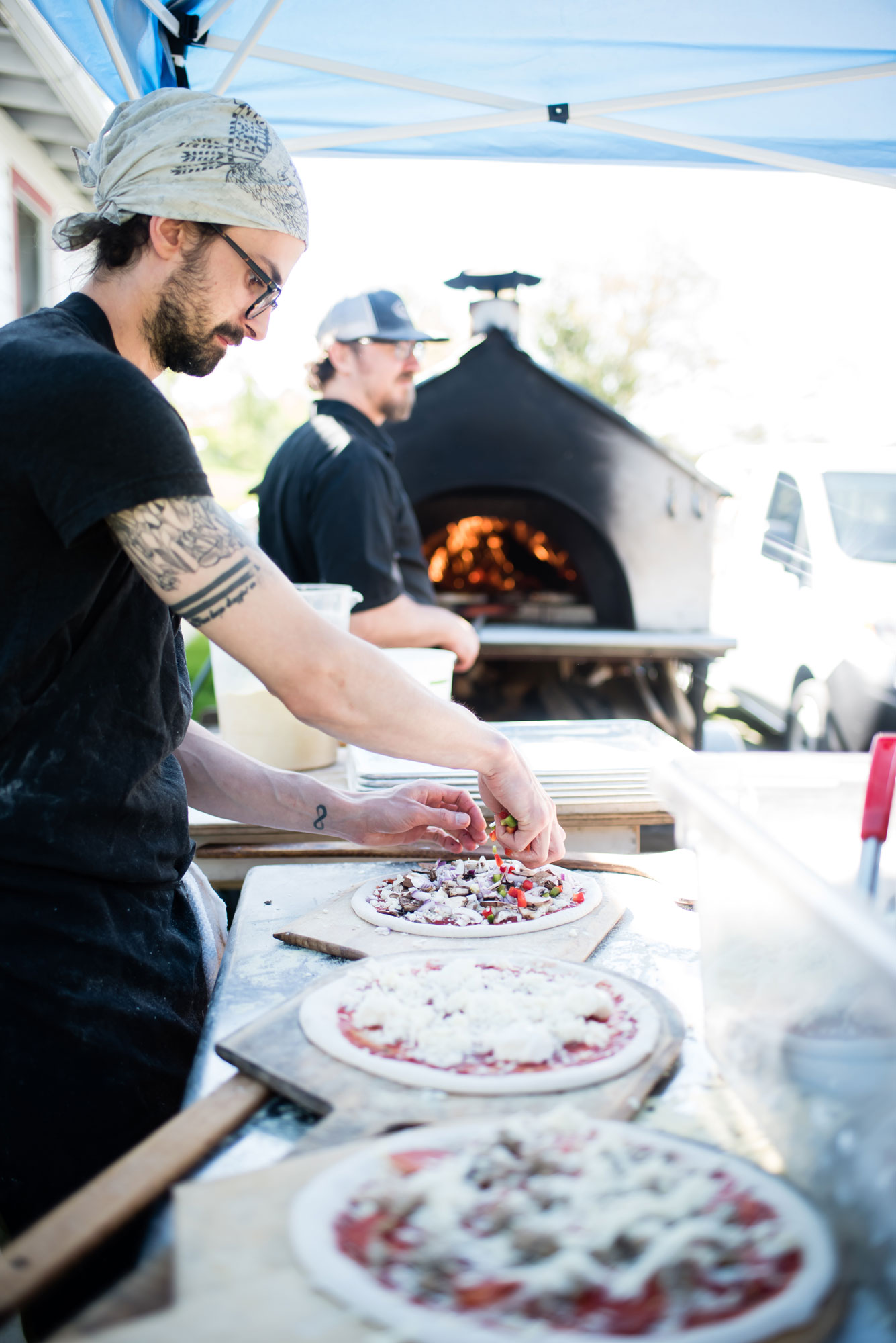 Mobile Wood-Fired Pizzas | Flat Rock NC Catering